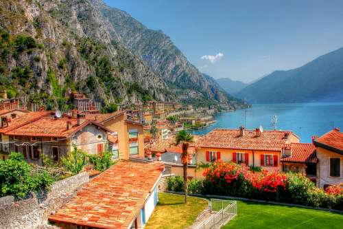 Limone Garda Italy Vacations Lake Summer
