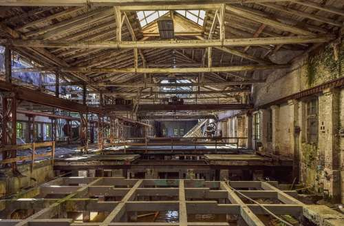 Lost Places Factory Pforphoto Hall Abandoned