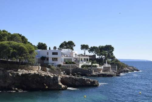 Mallorca Villa House Vacations Sea Nobel Coast