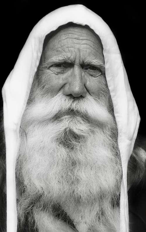 Man Beard White Person Portrait Face Middle Ages