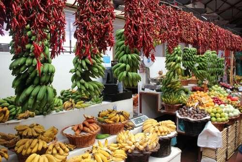 Market Day Vegetables Madeira Farmer'S Market