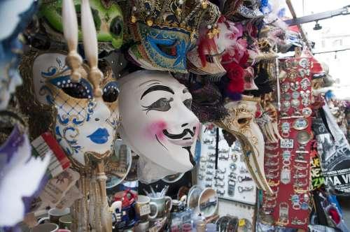 Mask Italy Venezia Venice Carnival Masquerade