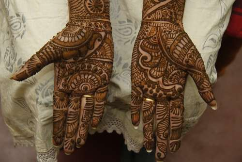 Mehendi Festival Hand Celebration Wedding