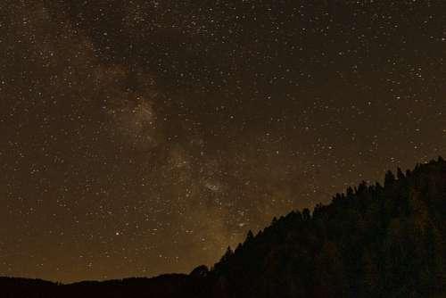 Milky Way Star Starry Sky Galaxy Cosmos Sky Night