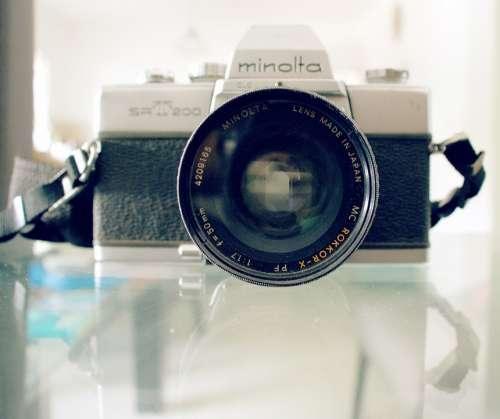 Minolta Camera Old Photography Antique Nostalgia