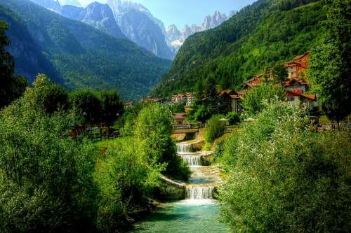 Molveno Mountain Nature Trentino Dolomites
