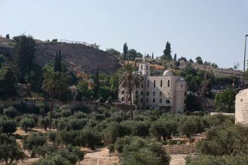 Monastery Jerusalem Church God Israel Travel