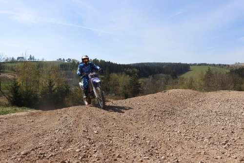 Motocross 450Ccm Climbing Dirtbike Training Speed