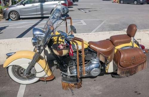 Motorcycle Indian Transportation Vintage Grunge
