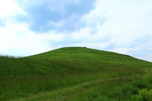 Mountain Green Landscape View