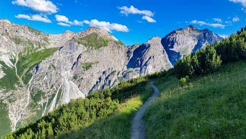 Mountains The Alps Tops Travel Trekking Austria