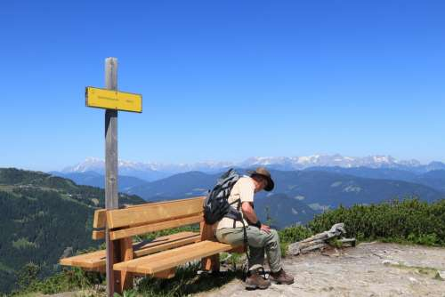 Mountains Mountain Landscape Hiking Body Kits
