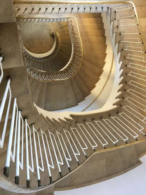 Munich Architecture Rise Old High Spiral