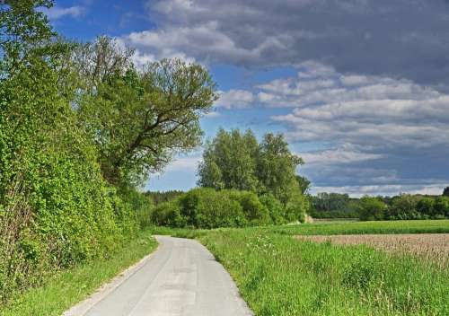 Münsterland Parklandschaft Fields Reported Forests
