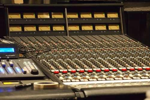 Music Studio Equipment Music Studio Mixer