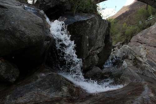 Nature Water Waterfall Drip Waters