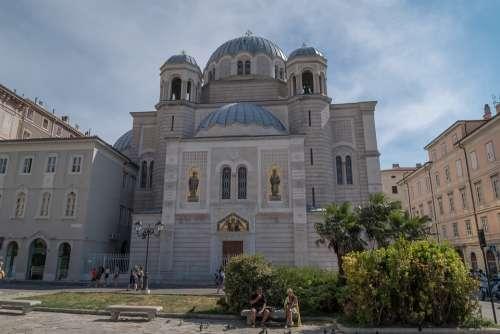 Neobyzantinische Architecture Eastern Church Church