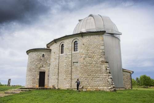 Observatory Croatia Building Science Stone Sky