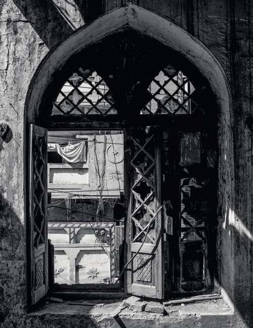 Old Window Forgotten Vintage Wall Room Interior