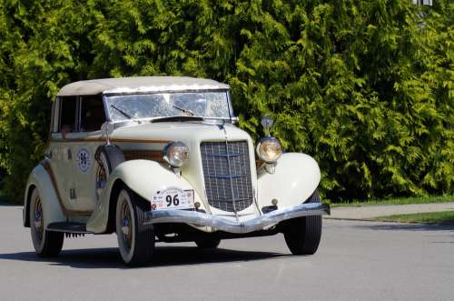 Old Car Veteran Race Historical History Vehicle