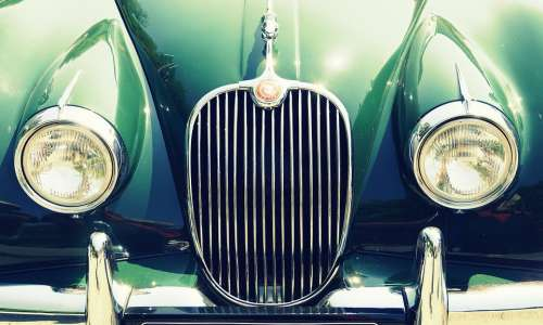 Oldtimer Spotlight Jaguar Automotive Vehicle