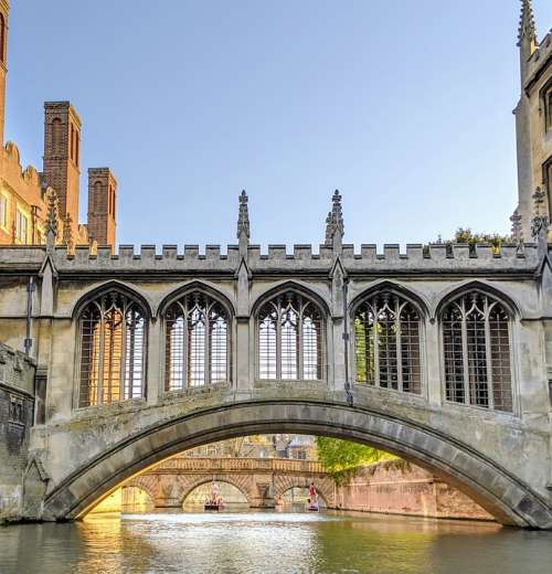 Oxford Bridge England Historic Building