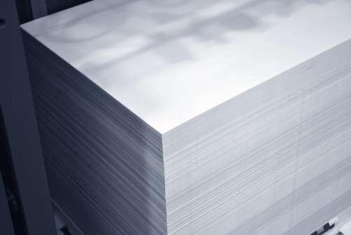 Paper Printing Stack Of Paper Press Retro Design