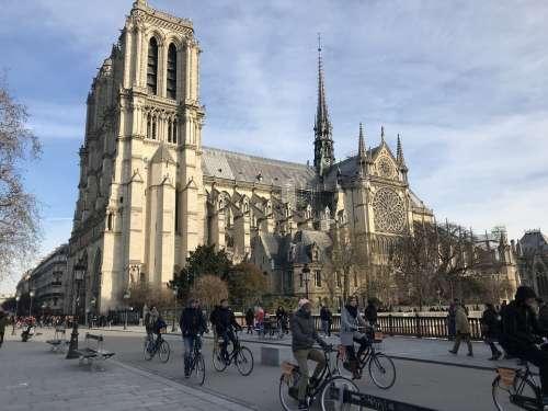 Paris Cathedral France Notre-Dame