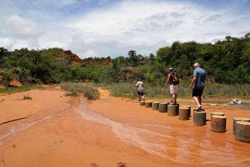 Park Madagascar Tsingy Rouge Earth National Park