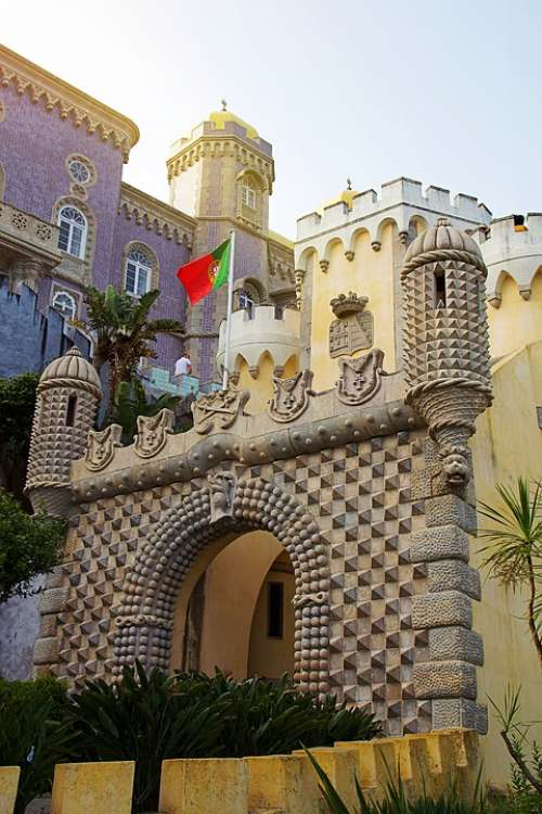 Portugal Sintra Architecture Castle Middle Ages