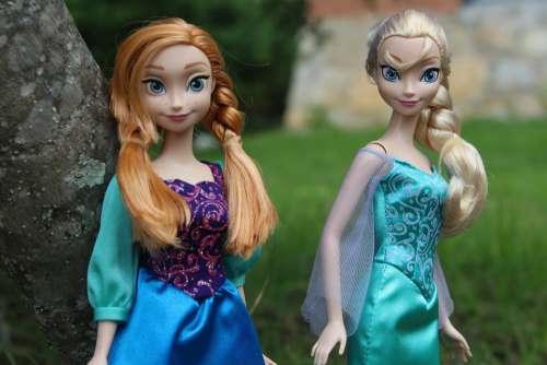 Princess Dolls Portrait Elegance Beauty Women