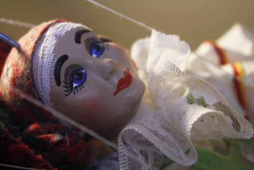 Puppet Doll Face