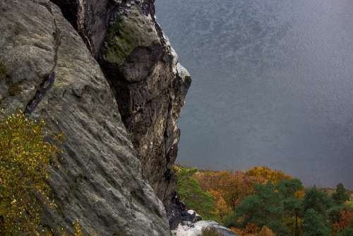 Rock Water Nature