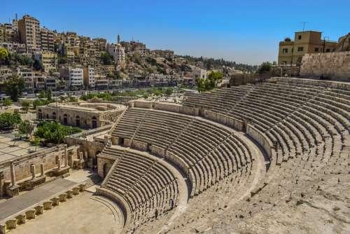 Roman Theatre 2Nd Century Landmark Architecture