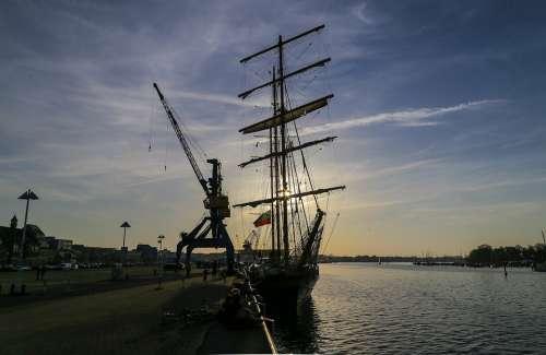 Rostock Port Baltic Sea Ship Northern Germany
