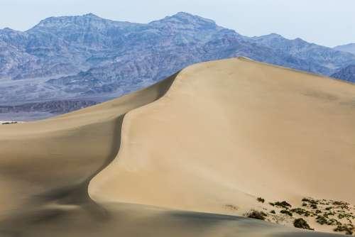 Sand Dune Desert Sand Sahara Dry Dunes Landscape