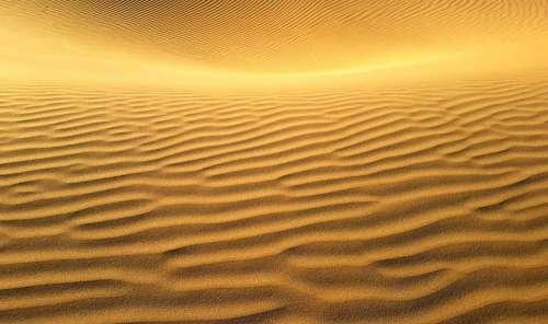 Sand Dune Sand Desert Landscape Dry Hot Nature
