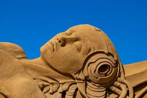Sand Sculpture San Francisco Art Festival