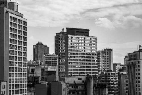 Sao Paulo Window Brazil City