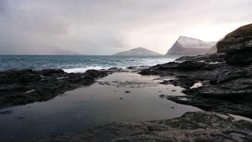 Scandinavia Landscape Sea Nature Loneliness