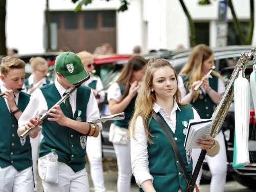 Schützenfest Bad Laer Girl National Fixed Celebrate