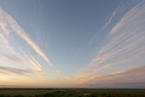 Sky Clouds Sunset Landscape Weather Summer