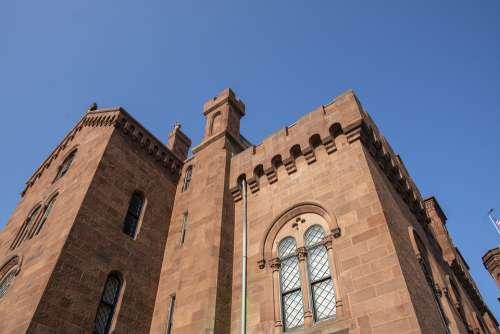 Smithsonian Museum Building City Dc Washington