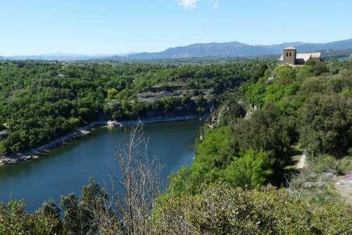 Spain Catalonia Monastery Abbey Architecture