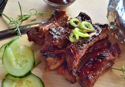 Spare Ribs Ribs Pork Grill Pork Ribs Grilled Food