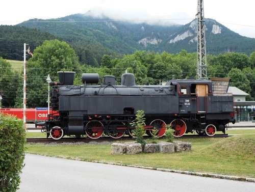 Steam Engine Rail Transport Payerbach
