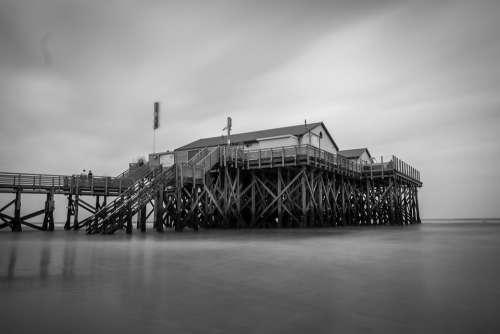 Stilt Houses North Sea Nordfriesland Vacations