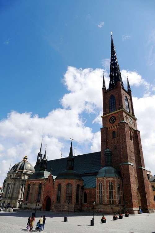 Stockholm Ridder Holmen Sweden Historic Center