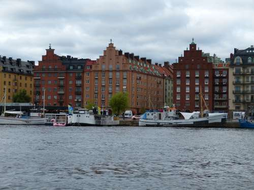 Stockholm Sweden Architecture House City Island