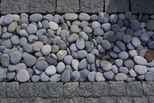 Stone Pebbles Garden